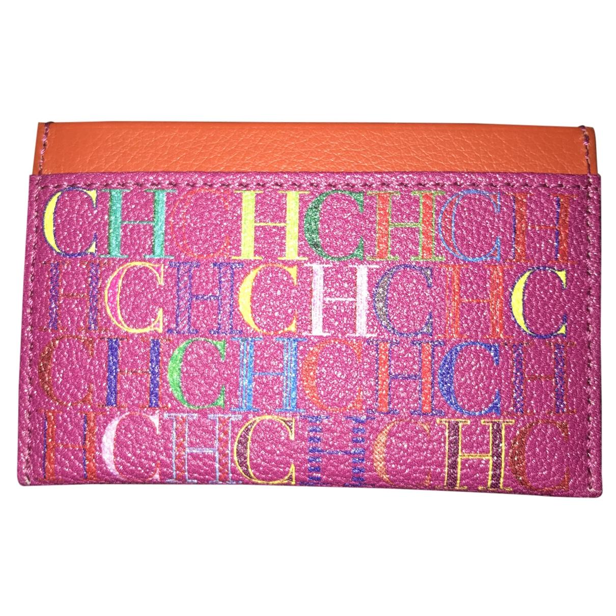 Carolina Herrera \N Pink Leather Purses, wallet & cases for Women \N