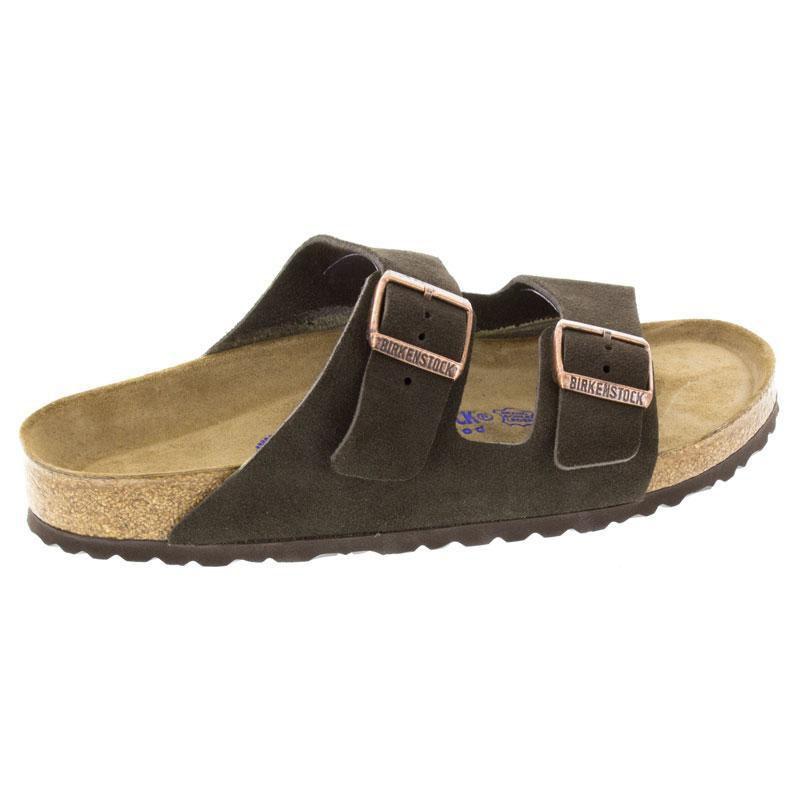 Birkenstock Arizona Mocha Suede Soft Footbed 38 N