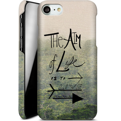 Apple iPhone 8 Smartphone Huelle - Aim of Life von Leah Flores