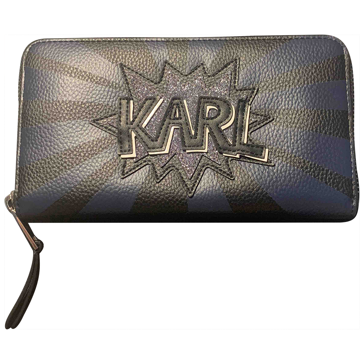 Karl Lagerfeld N Black Leather Purses, wallet & cases for Women N