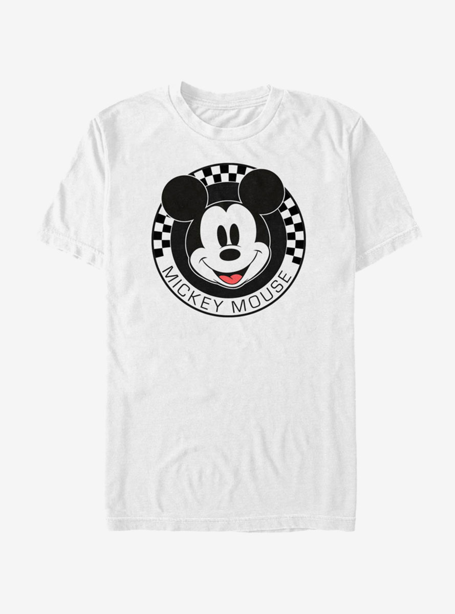 Disney Mickey Mouse Checkered T-Shirt
