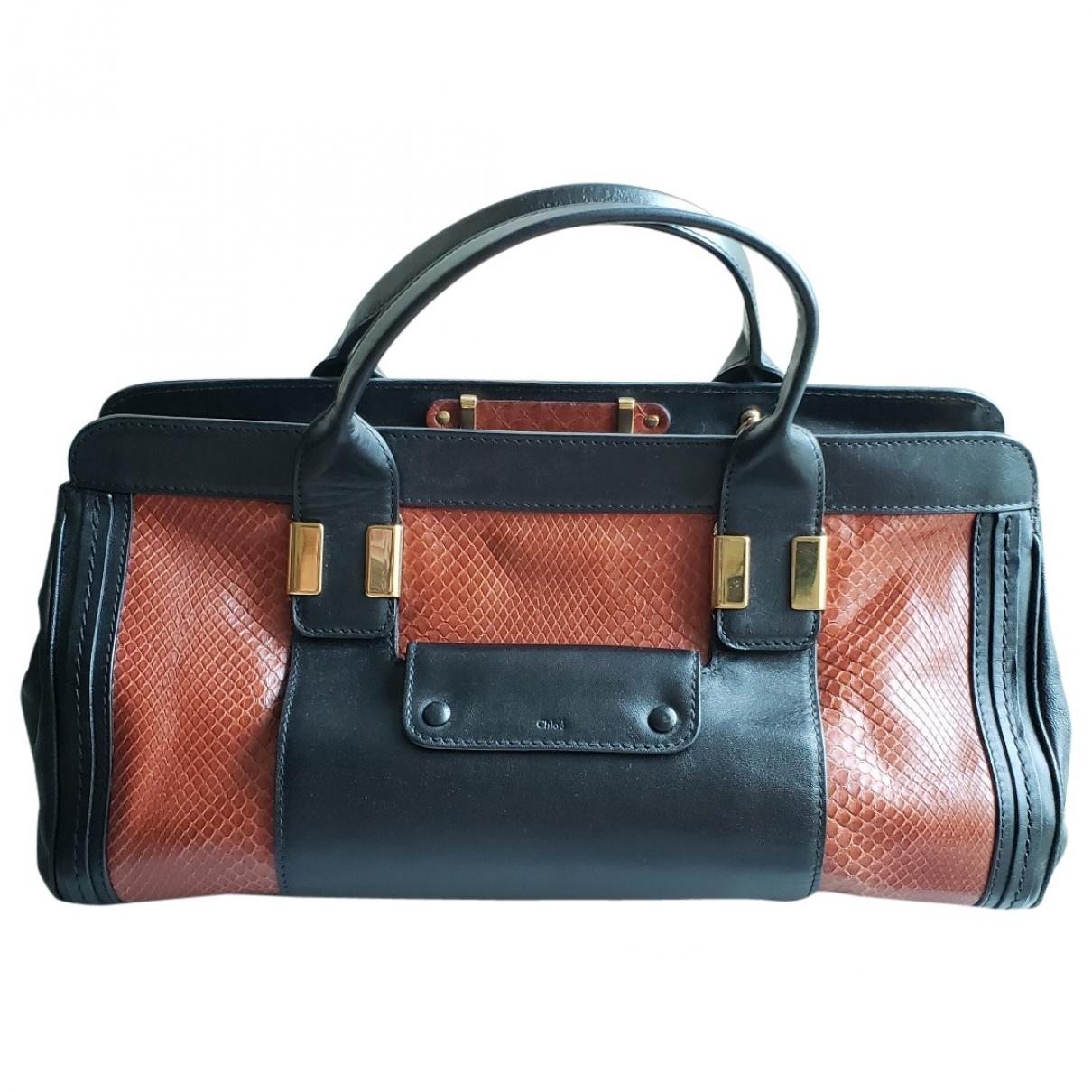 Chloé Alice Brown Leather handbag for Women \N