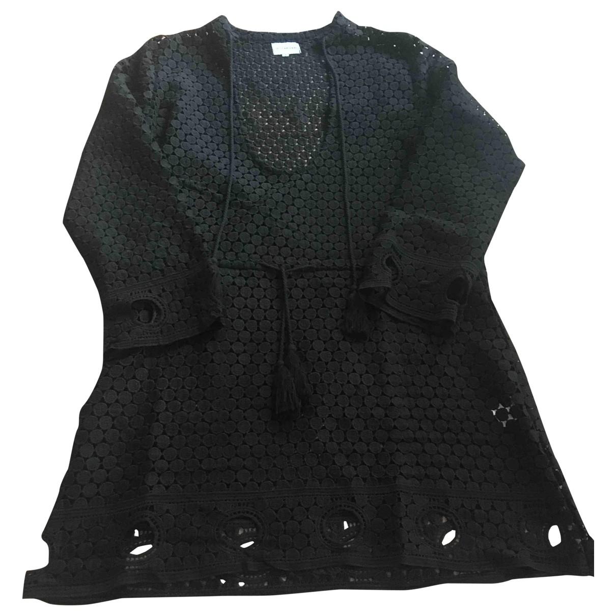 Les Canebiers \N Kleid in  Schwarz Polyester