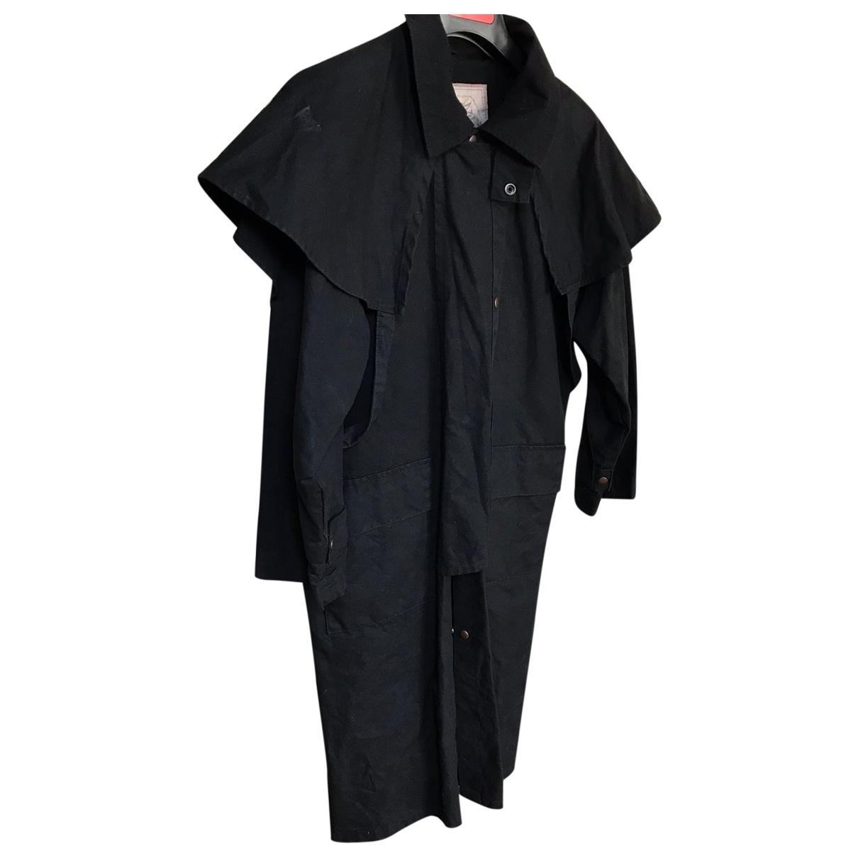 - Manteau   pour femme en coton - noir