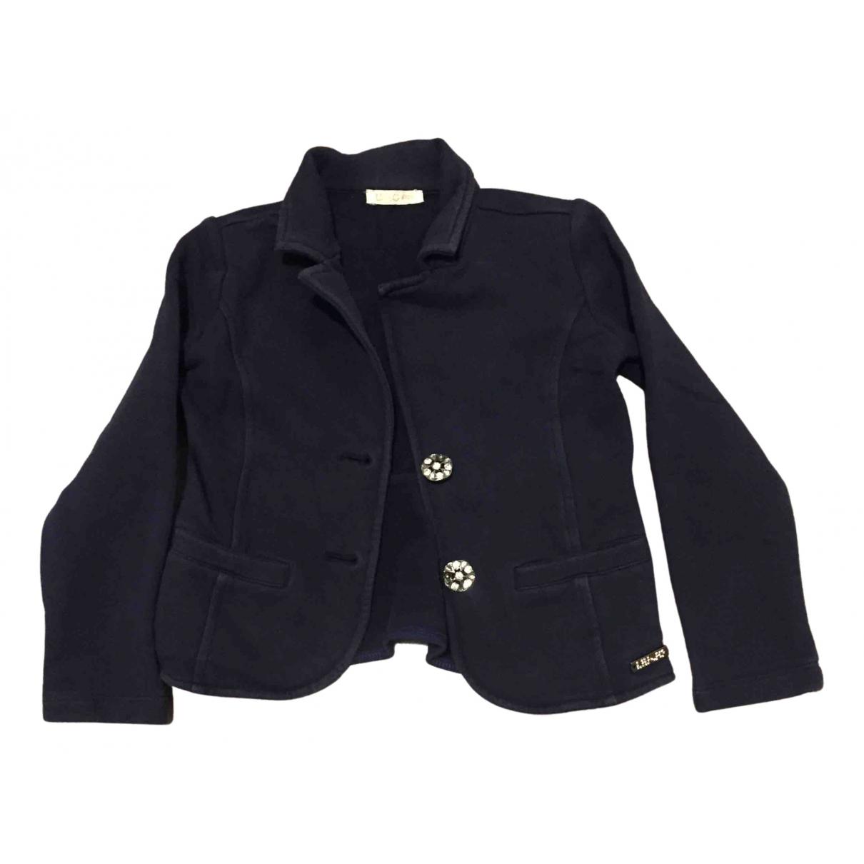 Liu.jo - Top   pour enfant en coton - bleu