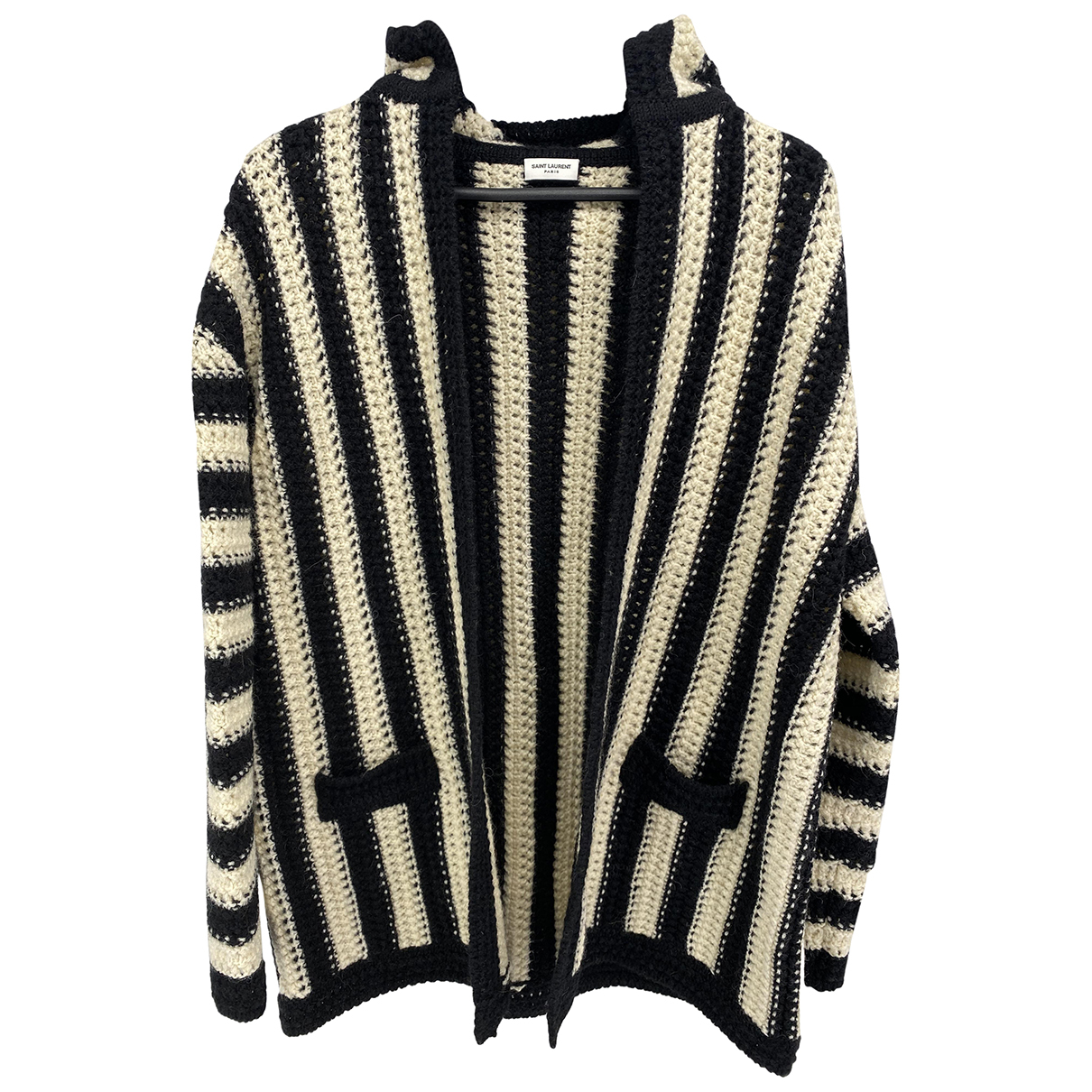 Saint Laurent N Ecru Wool Knitwear for Women M International