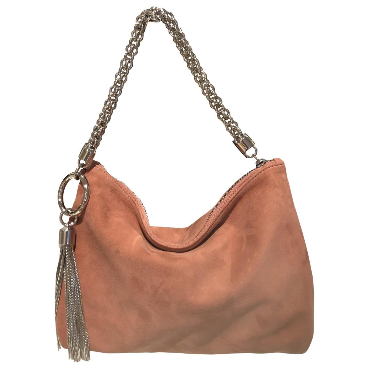 Jimmy Choo \N Pink Suede Clutch bag for Women \N