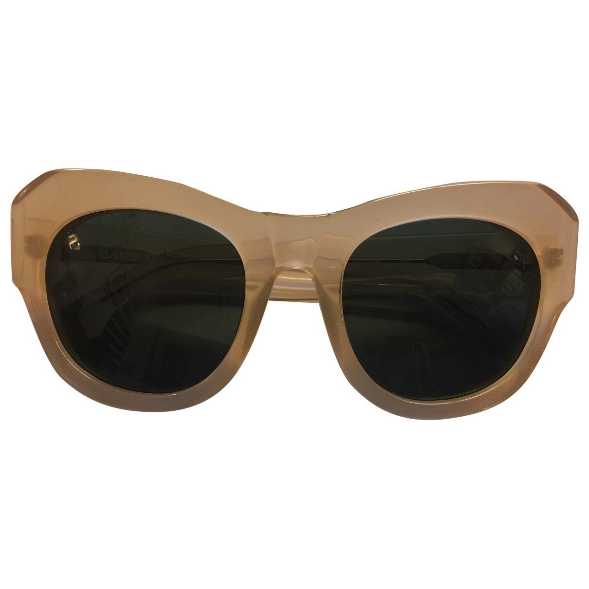 Dries Van Noten \N Ecru Sunglasses for Women \N