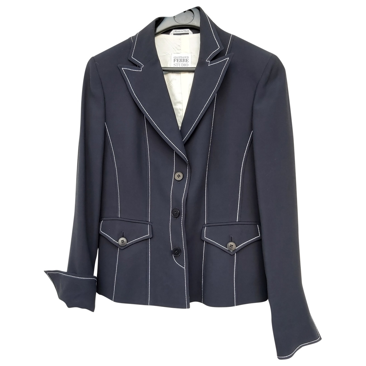 Gianfranco Ferré \N Black jacket for Women 40 FR