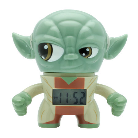 Star Wars Bulb Botz Yoda Alarm Clock, One Size , No Color Family