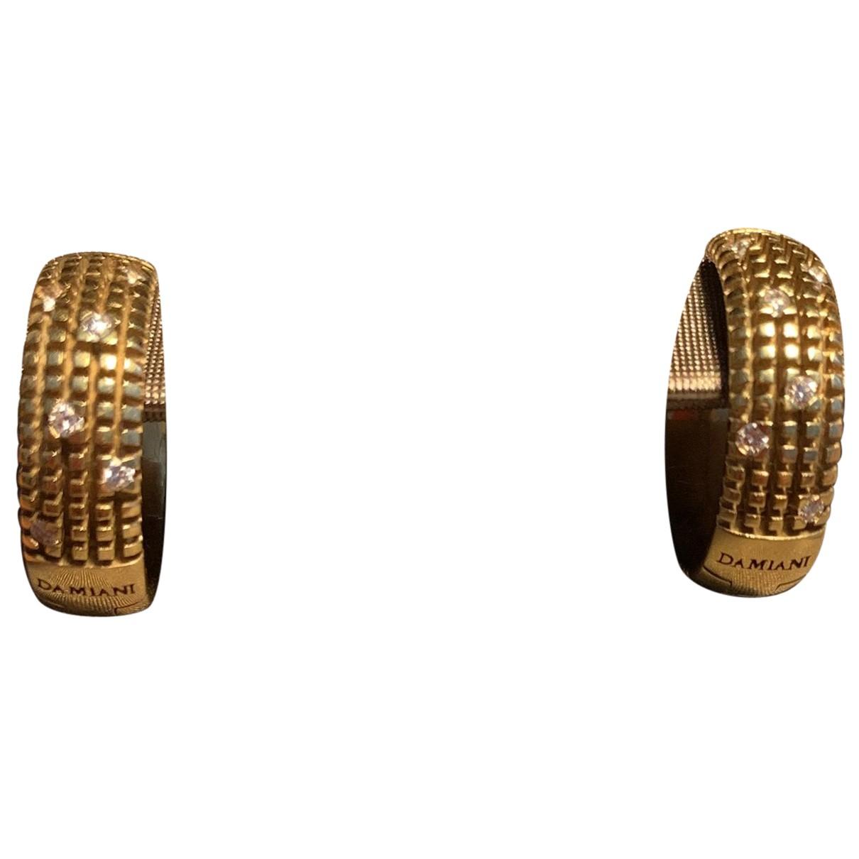 Damiani - Boucles doreilles   pour femme en or jaune - jaune