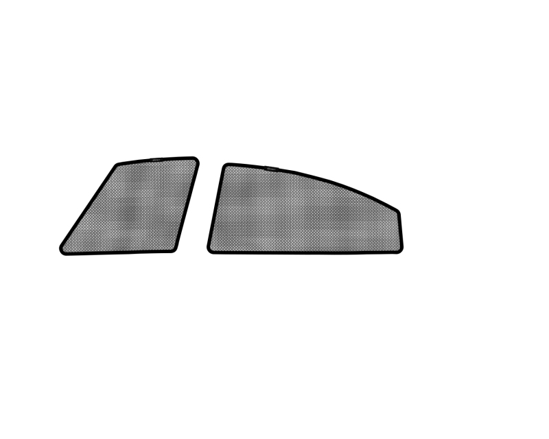 3D MAXpider 2009-2013 Mazda Mazda6 Sedan Black Sun Shades - Side Windows