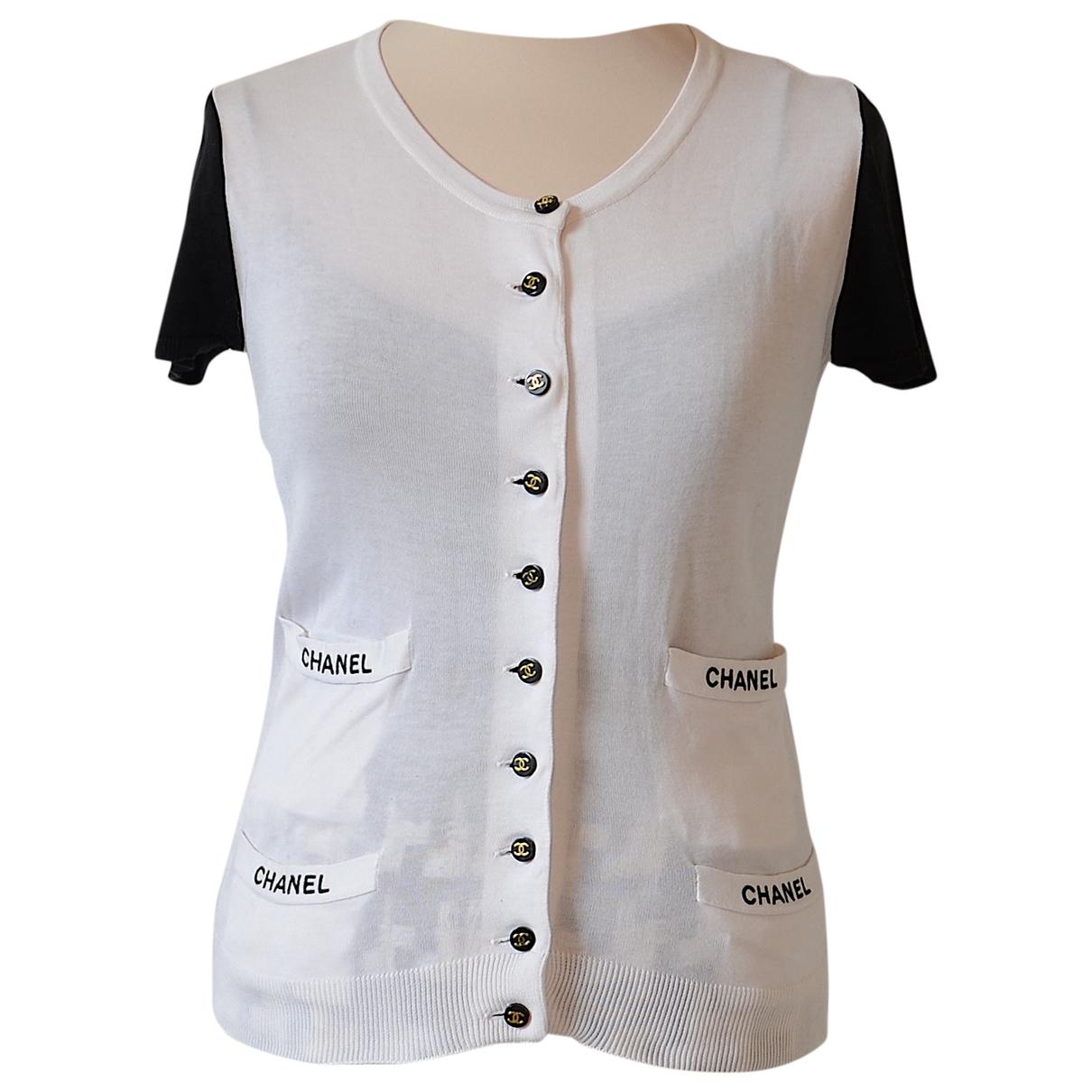 Chanel \N White Cotton Knitwear for Women 38 FR