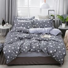 Star Print Bedding Set Without Filler
