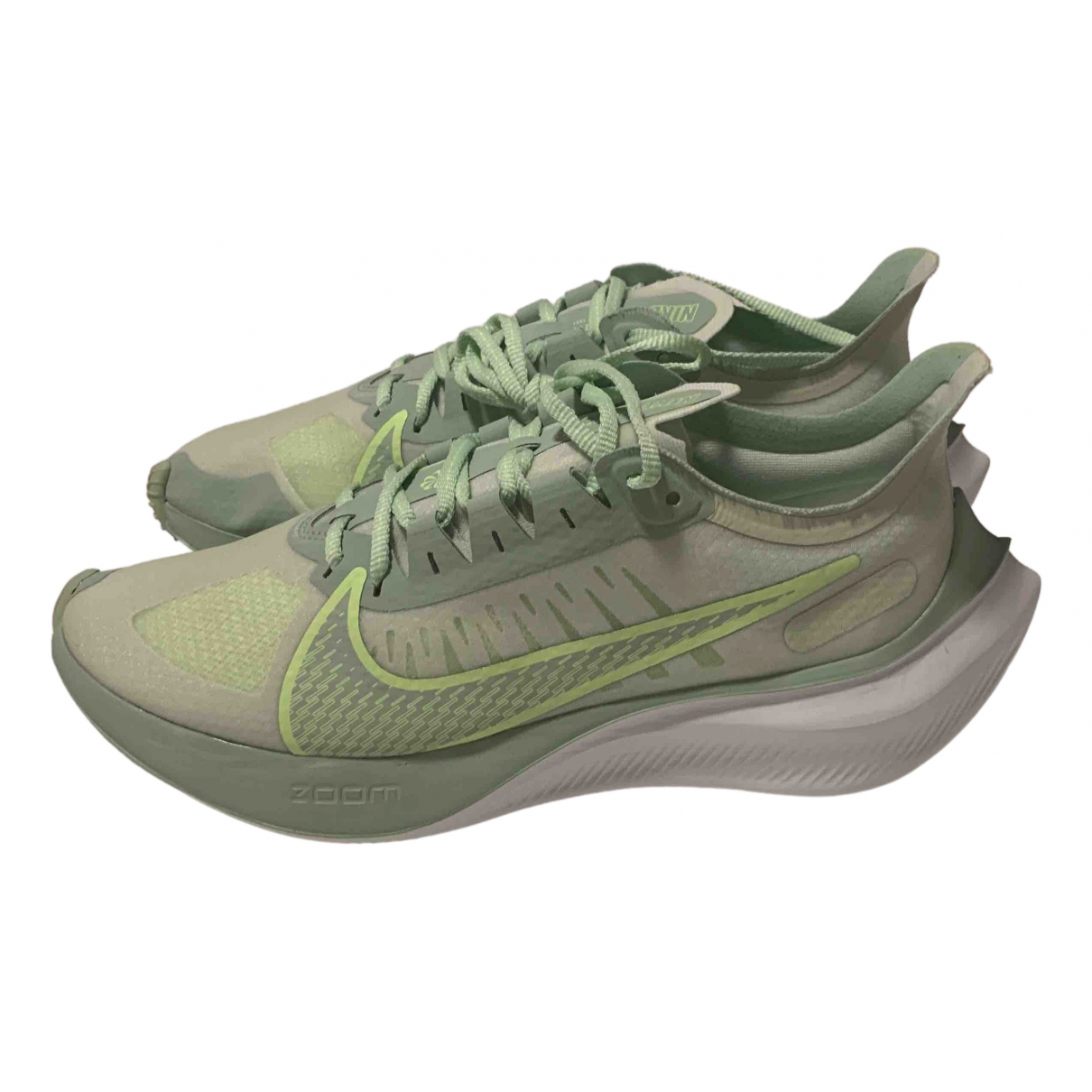 Nike N Green Cloth Trainers for Women 40 EU