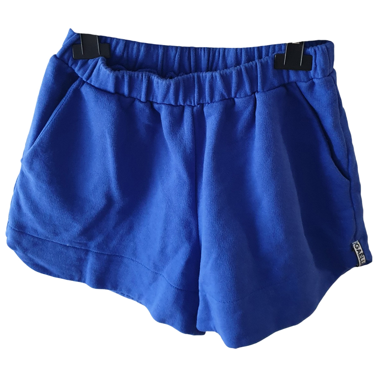 Gaelle Paris \N Blue Cotton Shorts for Kids 14 years - S FR