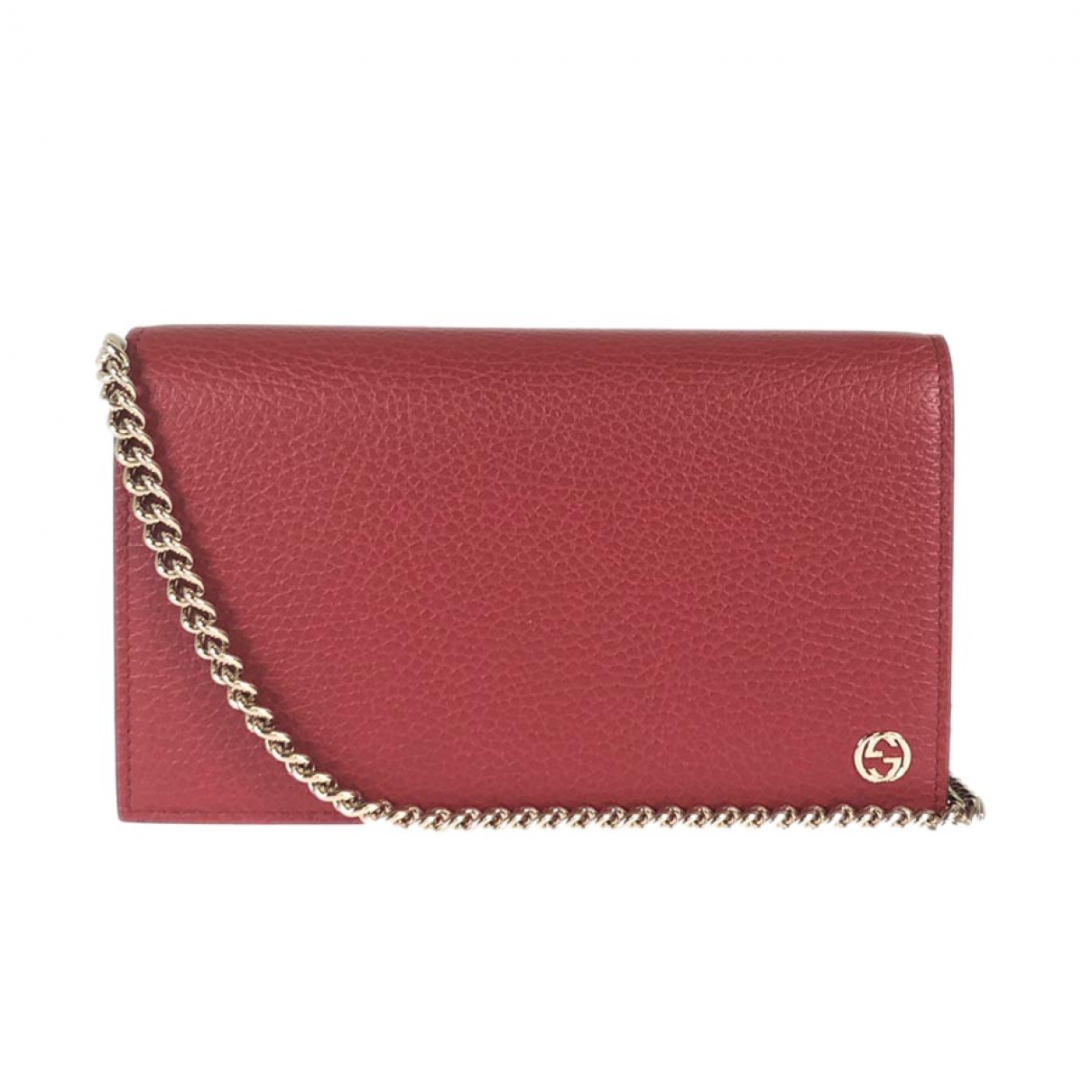 Gucci \N Red Leather Clutch bag for Women \N