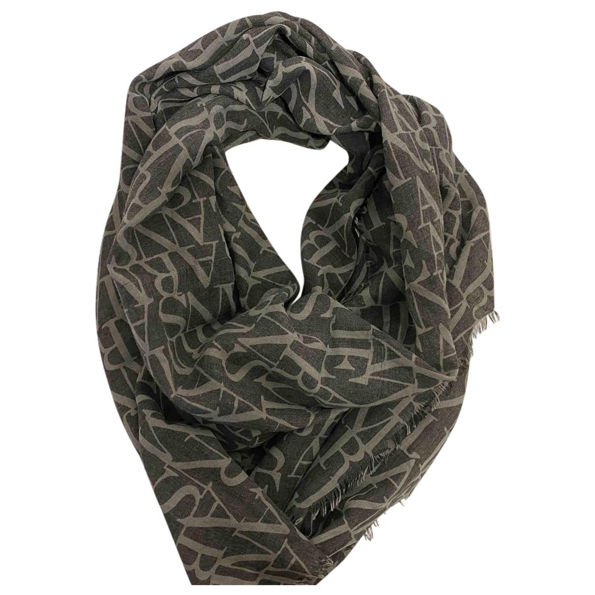 Armani Jeans N Grey Cotton scarf & pocket squares for Men N