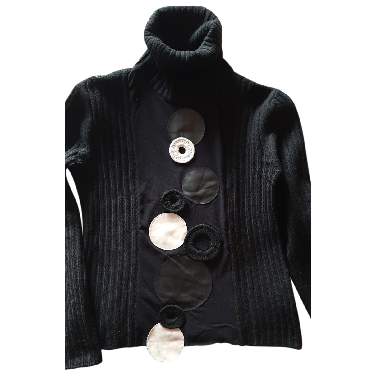 Autre Marque - Pull   pour femme en laine - noir
