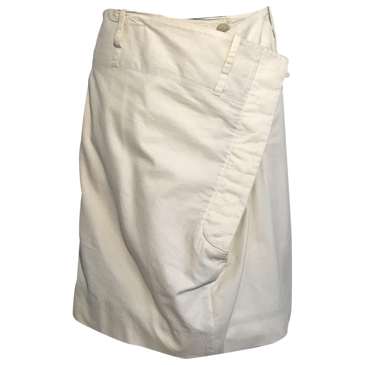 Vivienne Westwood - Jupe   pour femme en coton - beige