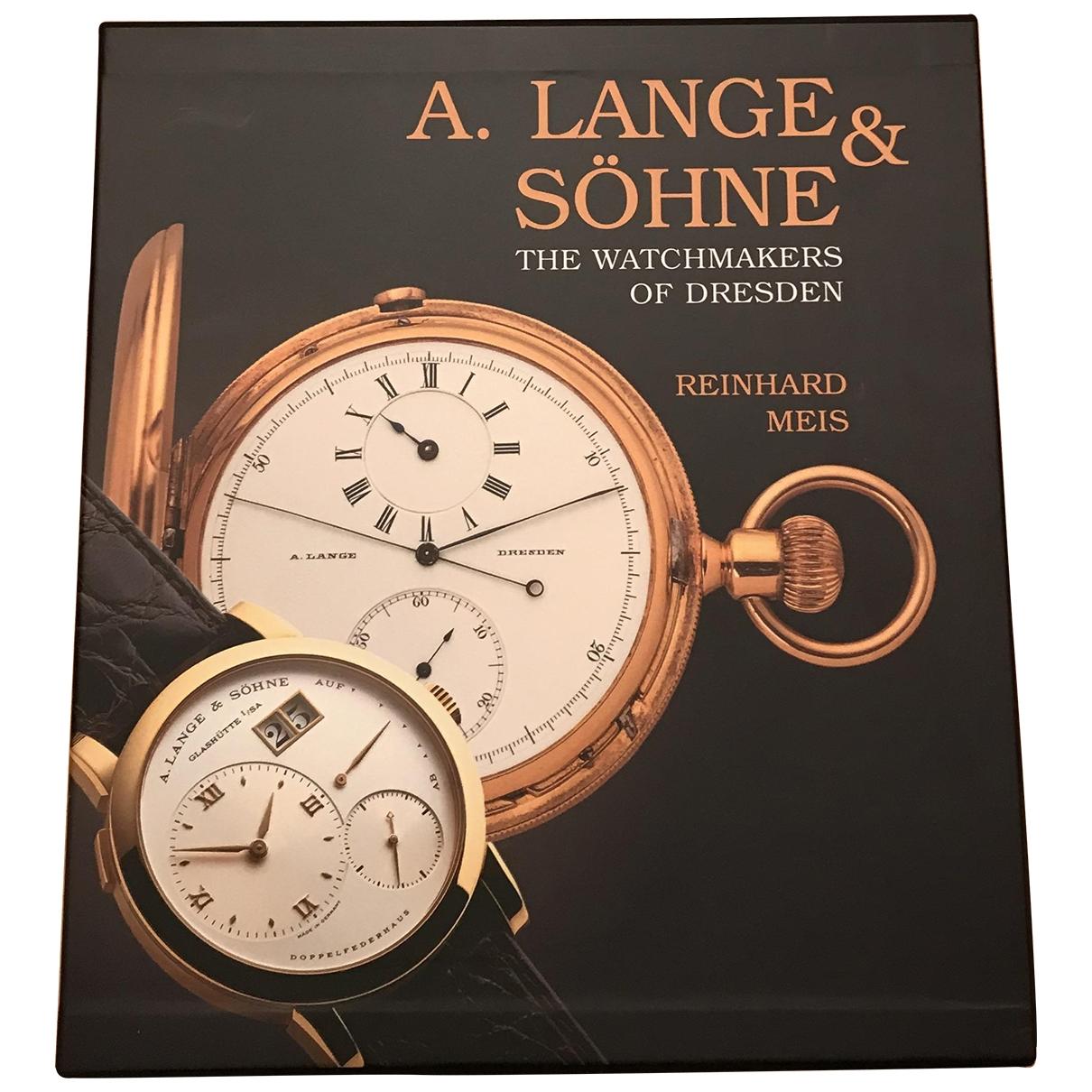 A. Lange & Sohne \N Mode in  Schwarz Holz