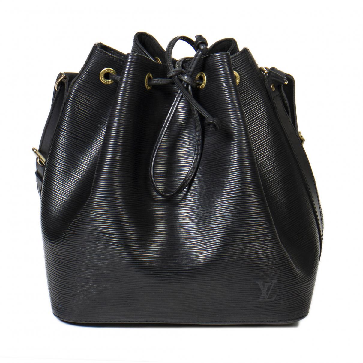 Louis Vuitton Noé Black Leather handbag for Women \N