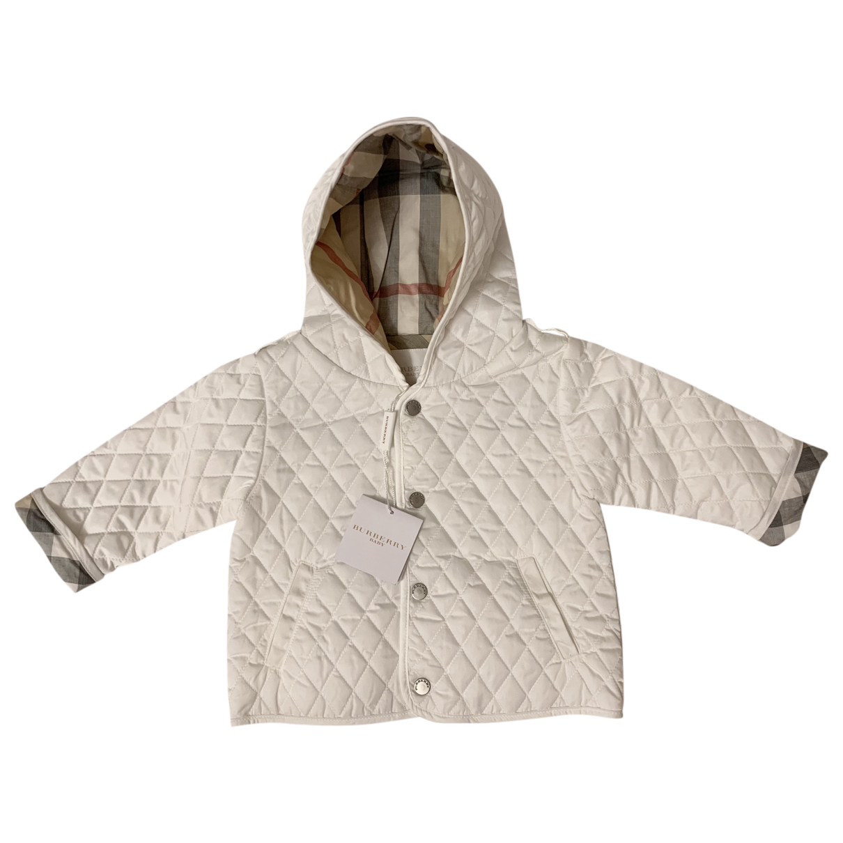Burberry N White Cotton jacket & coat for Kids 6 months - until 26.5 inches UK