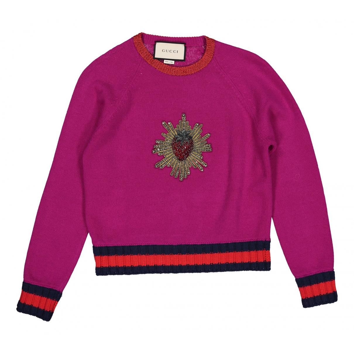 Gucci N Pink Wool Knitwear for Women XS International
