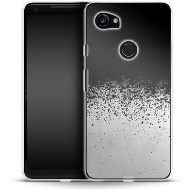 Google Pixel 2 XL Silikon Handyhuelle - Ink von SONY