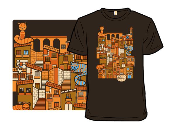 Cat Village T Shirt