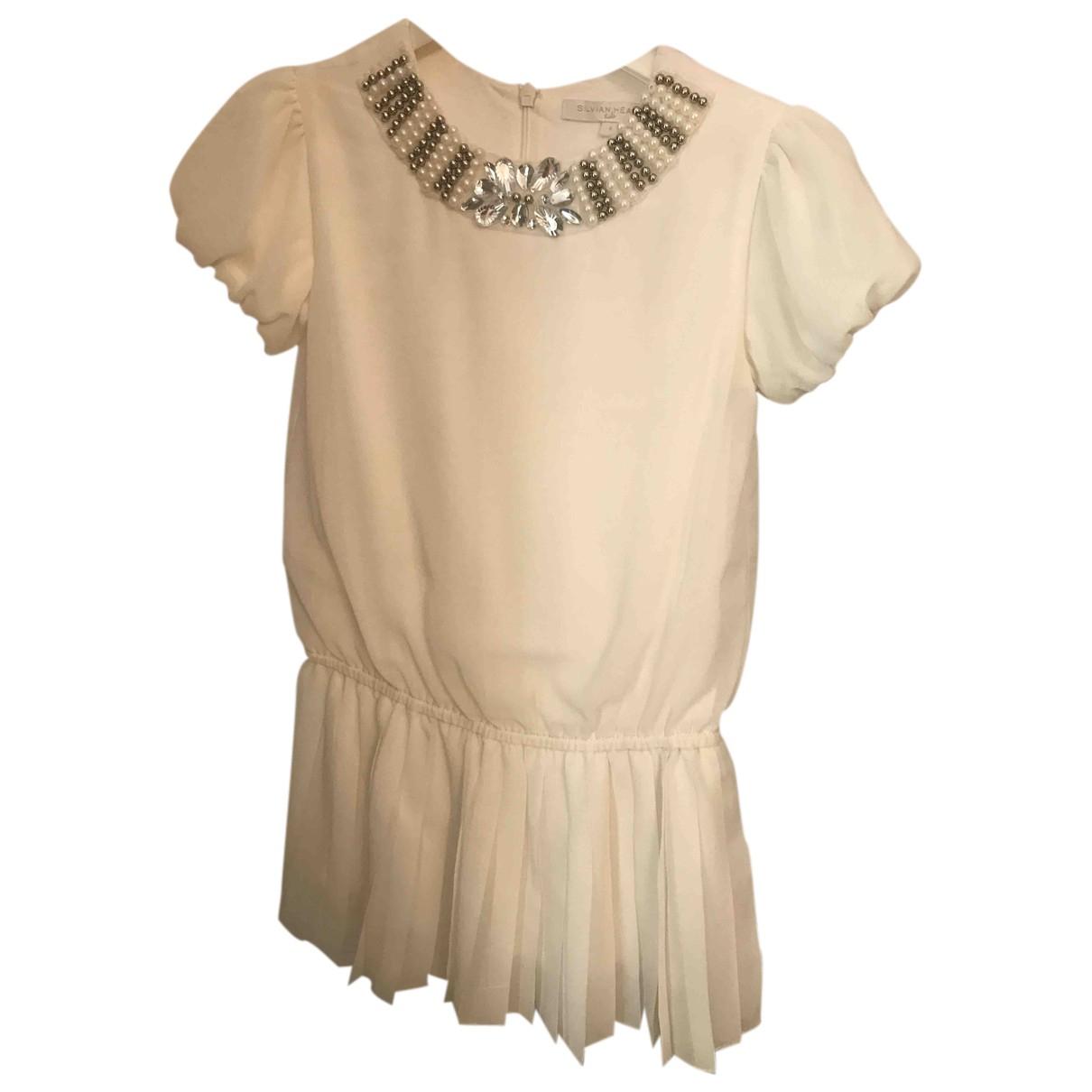 Silvian Heach - Robe    pour enfant - blanc