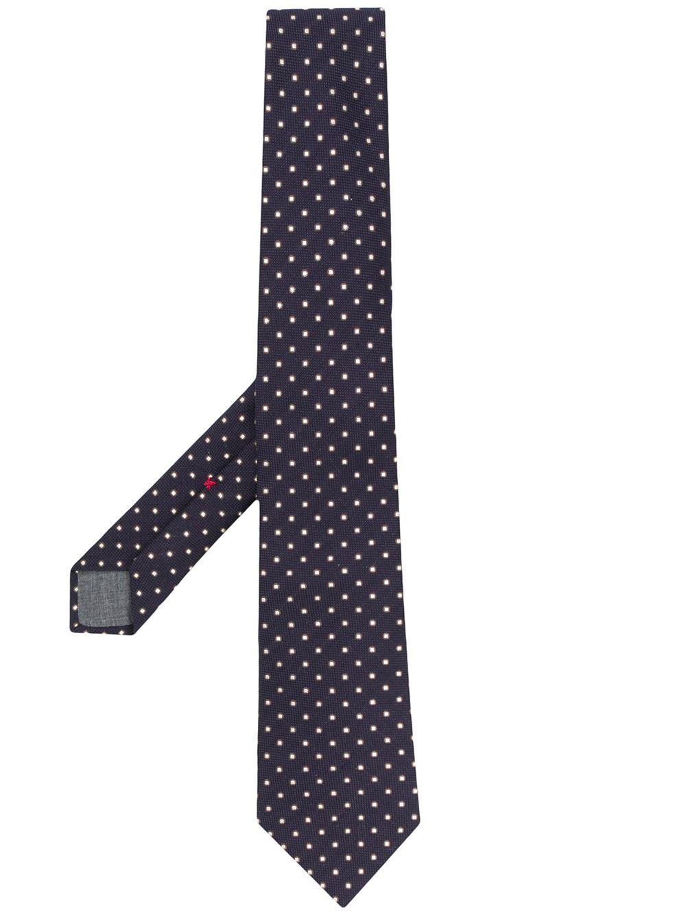 Wool Silk Blend Tie