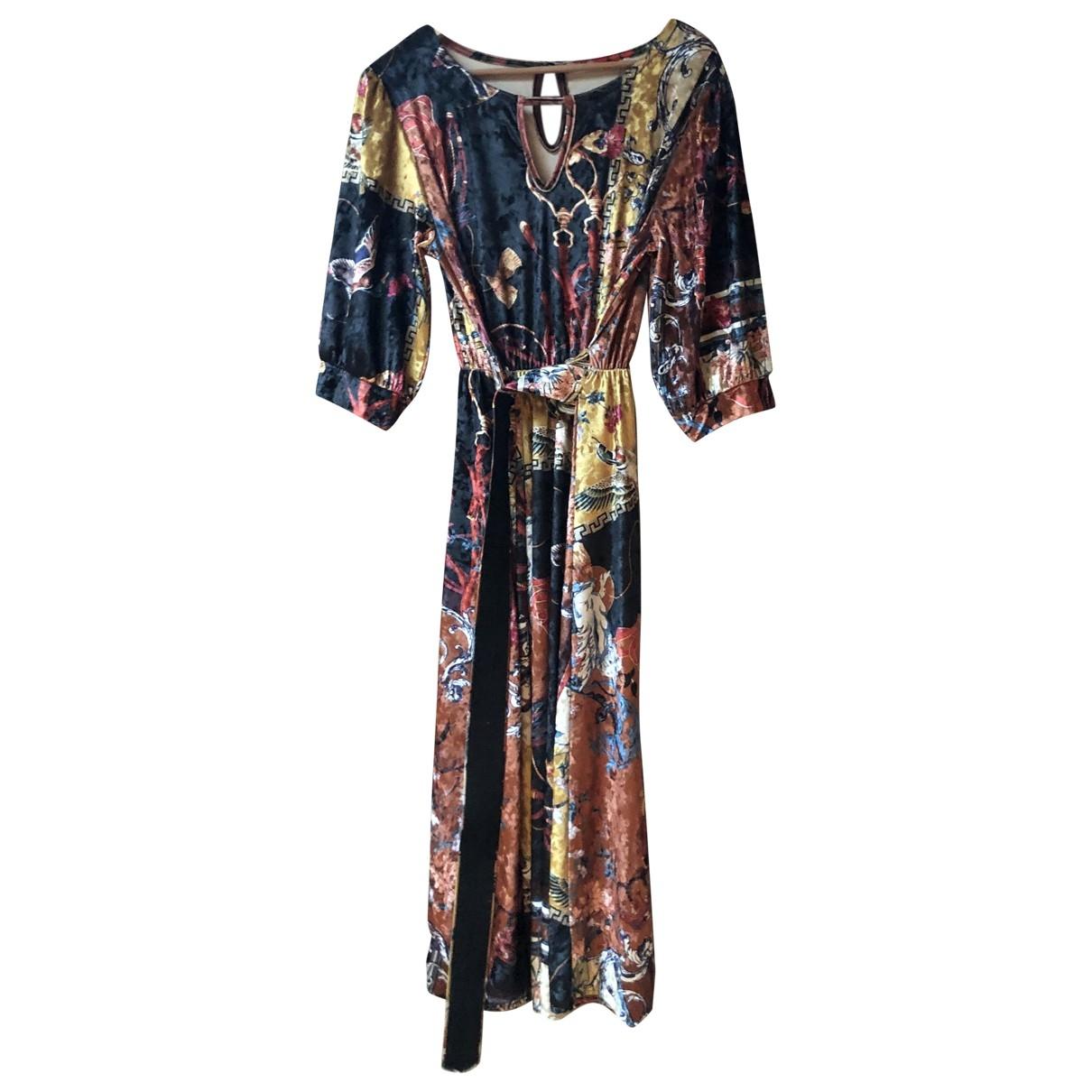 Non Signé / Unsigned \N Velvet dress for Women 40 IT