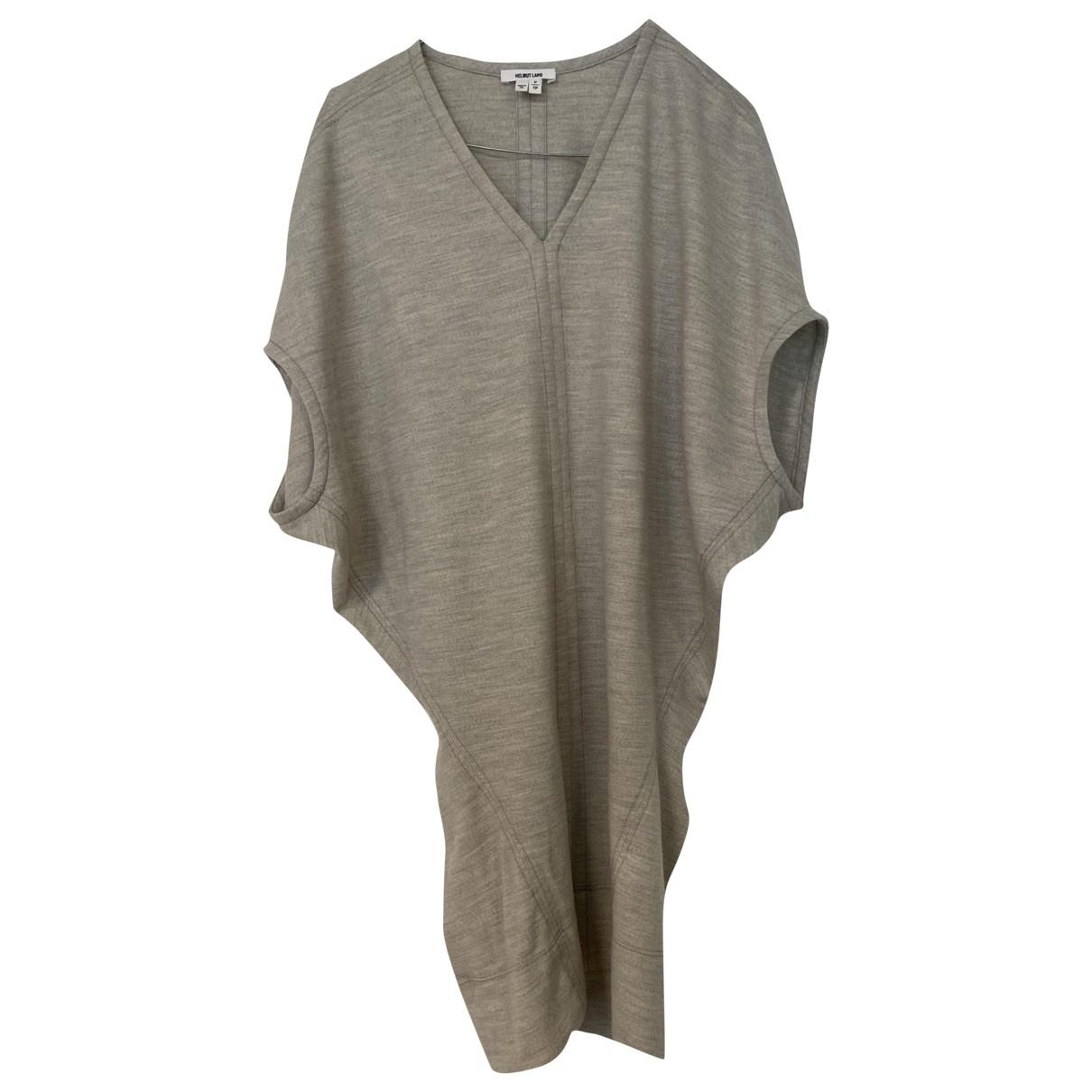 Helmut Helmut Lang - Robe   pour femme en laine - gris