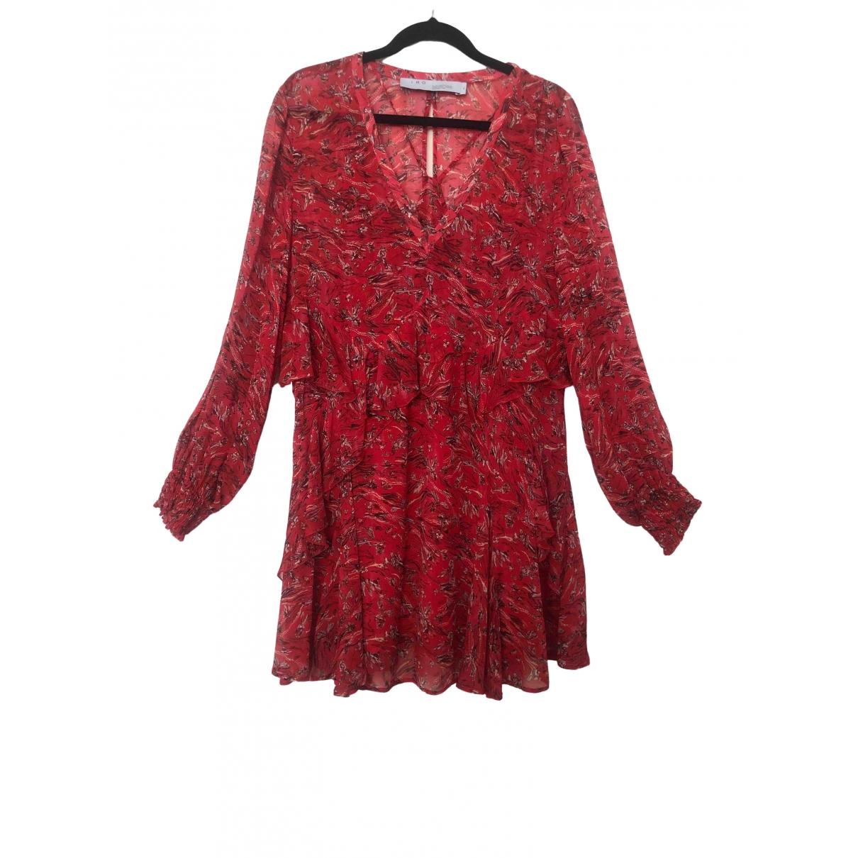 Iro Fall Winter 2019 Kleid in  Rot Viskose