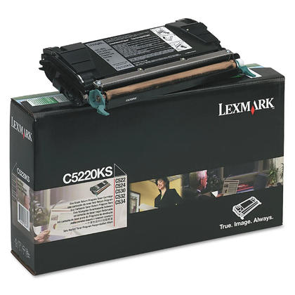 Lexmark C5220KS Original Black Return Program Toner Cartridge