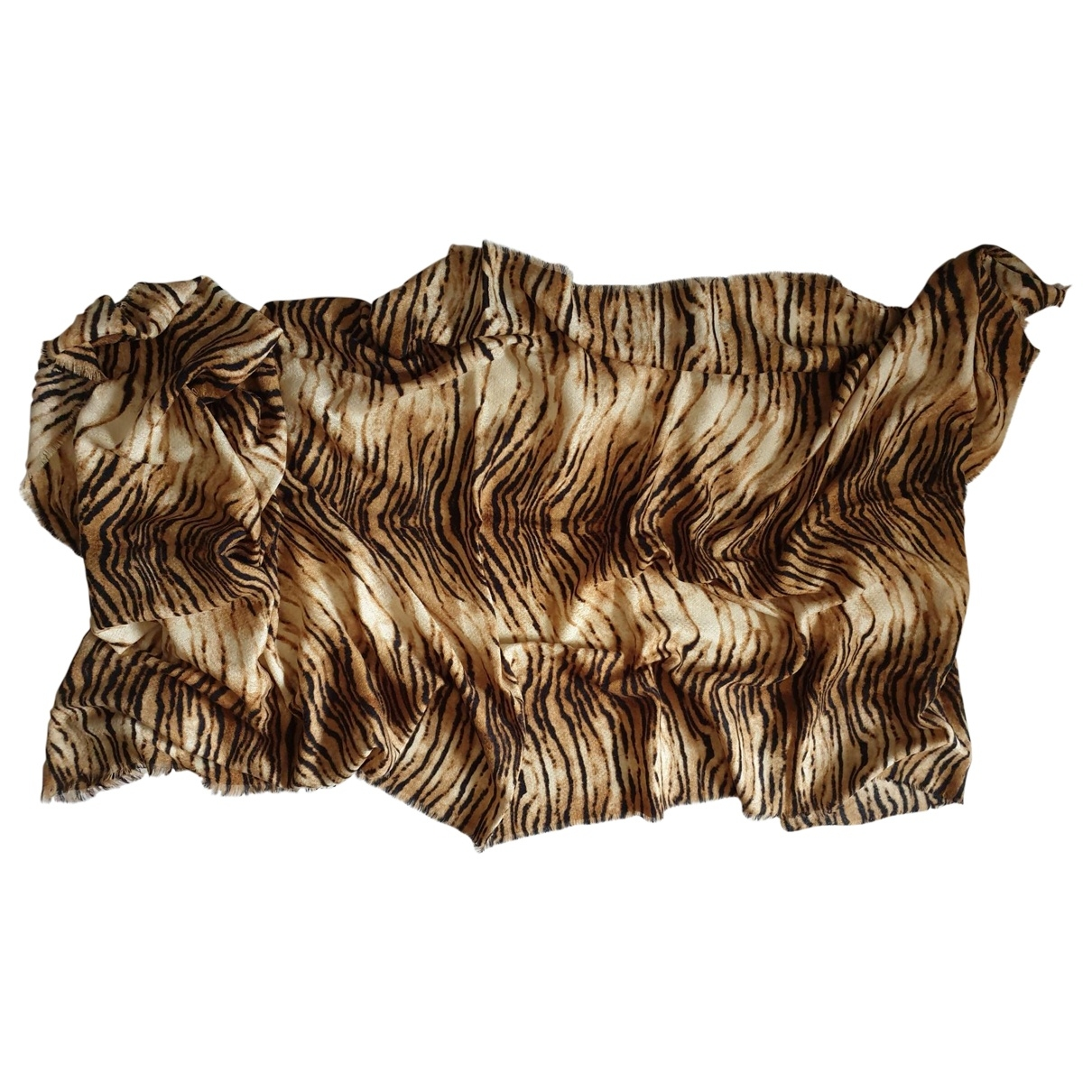 Zara - Foulard   pour femme - marron