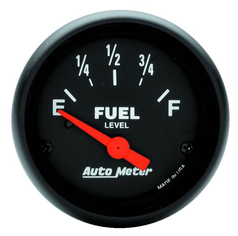 AutoMeter GAUGE; FUEL LEVEL; 2 1/16in.; 240OE TO 33OF; ELEC; Z-SERIES