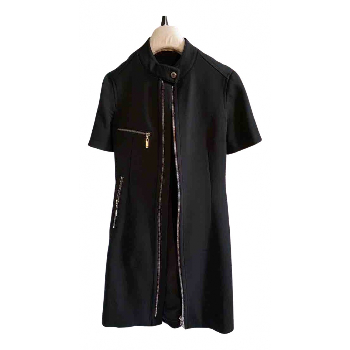 Louis Vuitton \N Black Wool dress for Women 38 FR