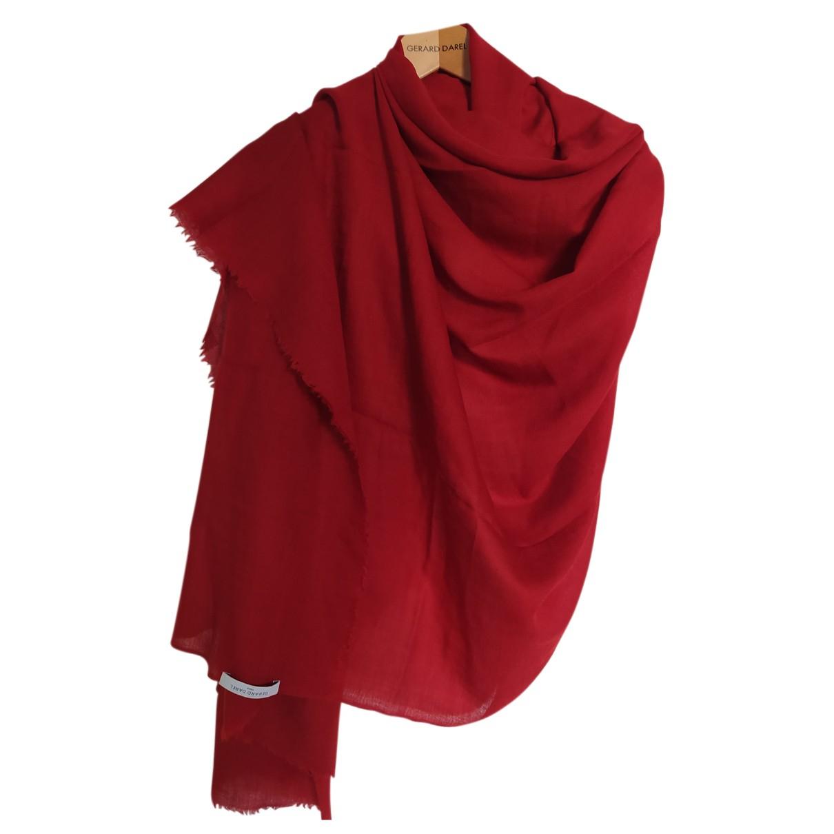 Gerard Darel N Red Wool scarf for Women N