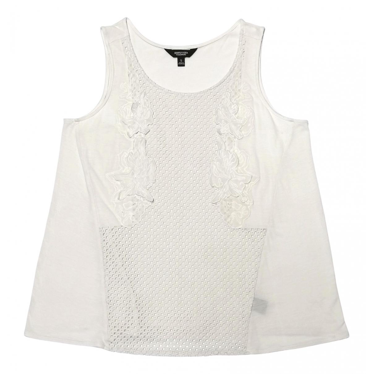 Camiseta sin mangas Vera Wang