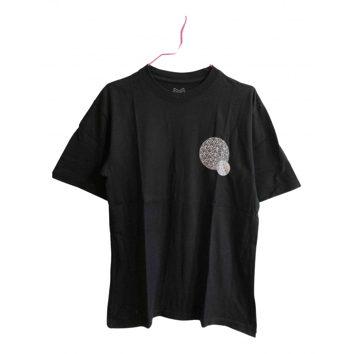 Palace - Tee shirts   pour homme en coton - noir