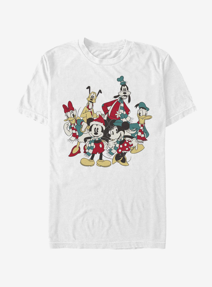 Disney Mickey Mouse Holiday Group T-Shirt