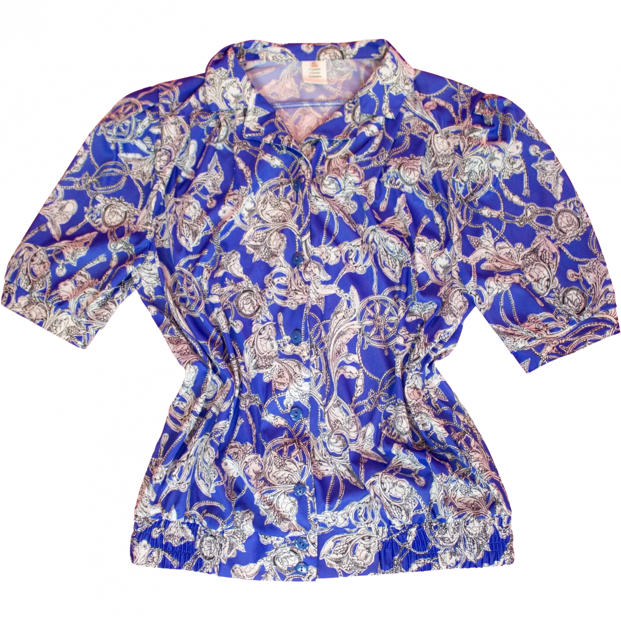 Non Signé / Unsigned \N Blue  top for Women 42 FR