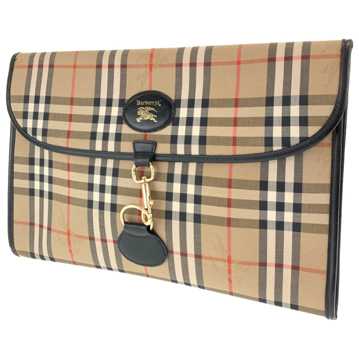 Marroquineria de Lona Burberry