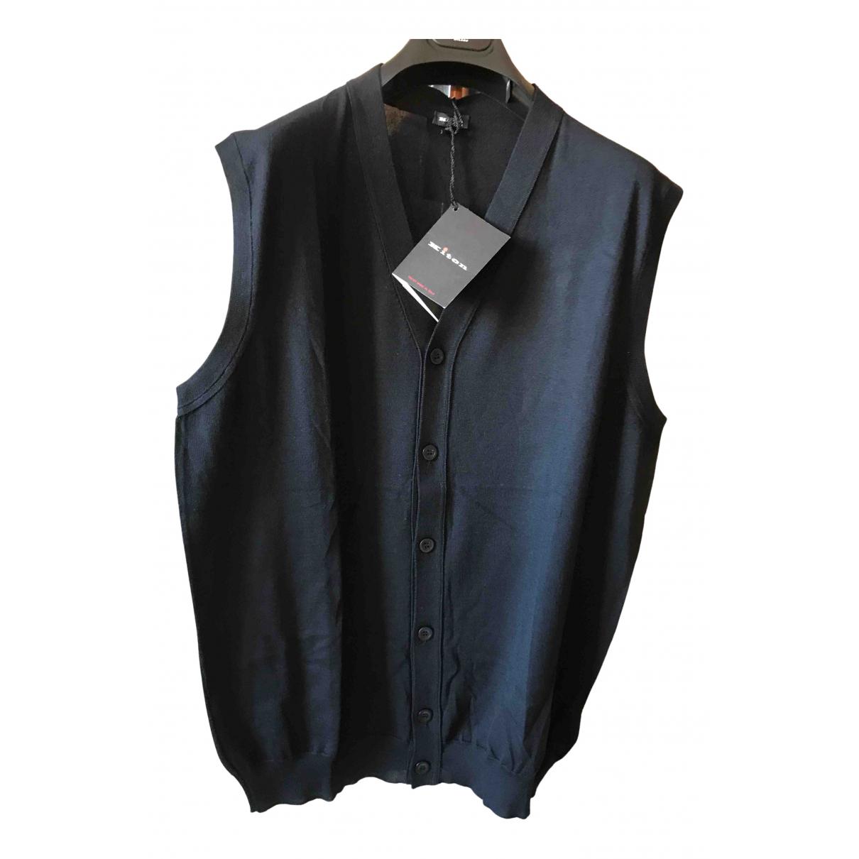 Kiton - Pulls.Gilets.Sweats   pour homme en laine - noir