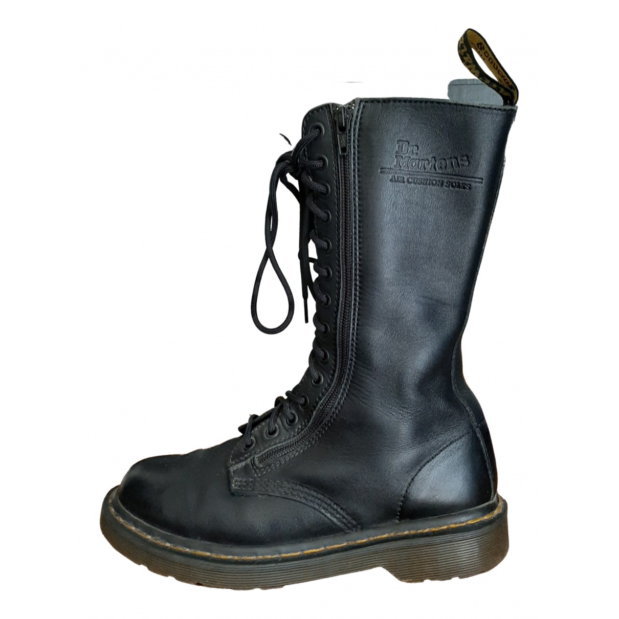 Dr. Martens \N Black Leather Ankle boots for Women 39 EU