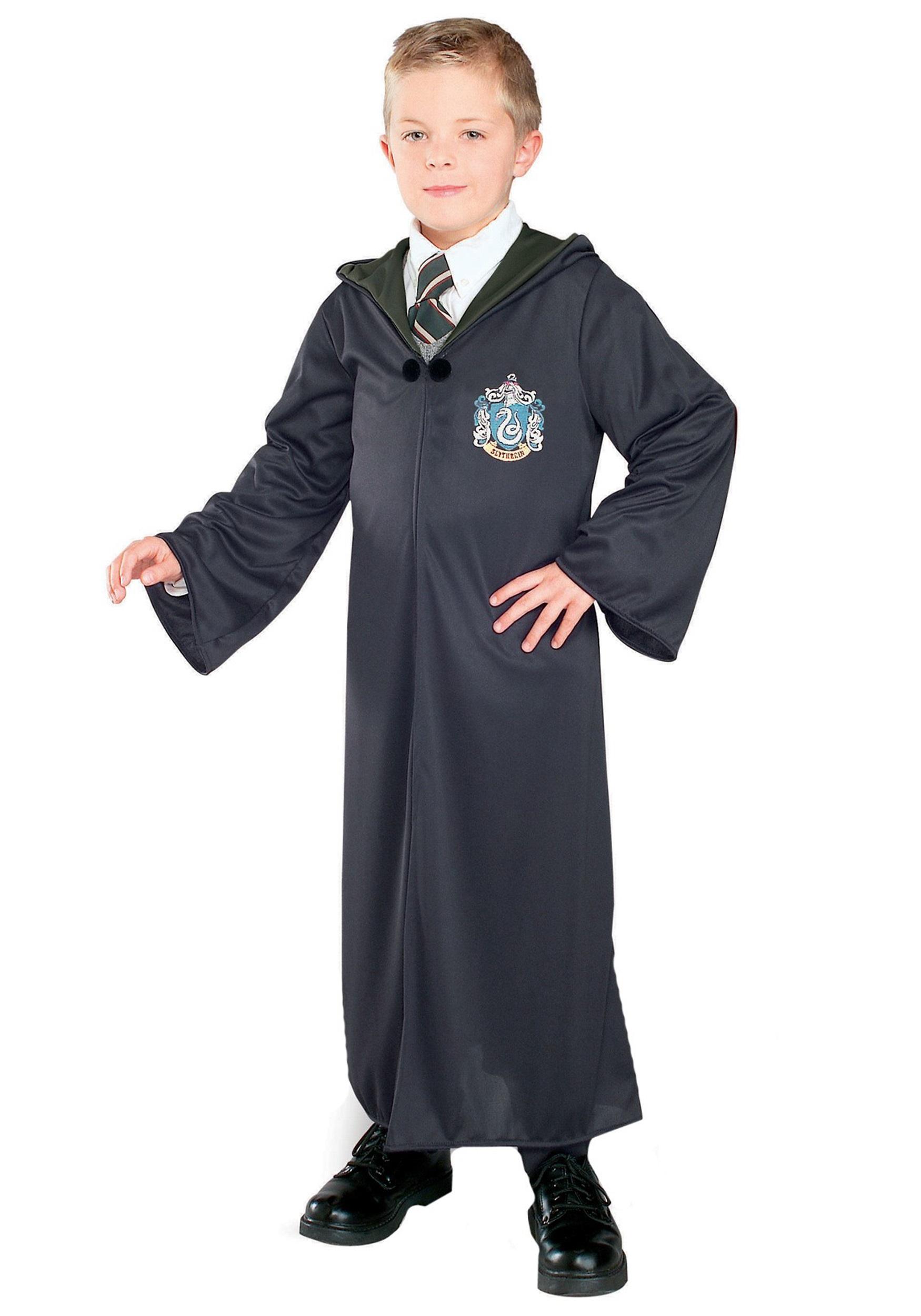Harry Potter Slytherin Costume Robe