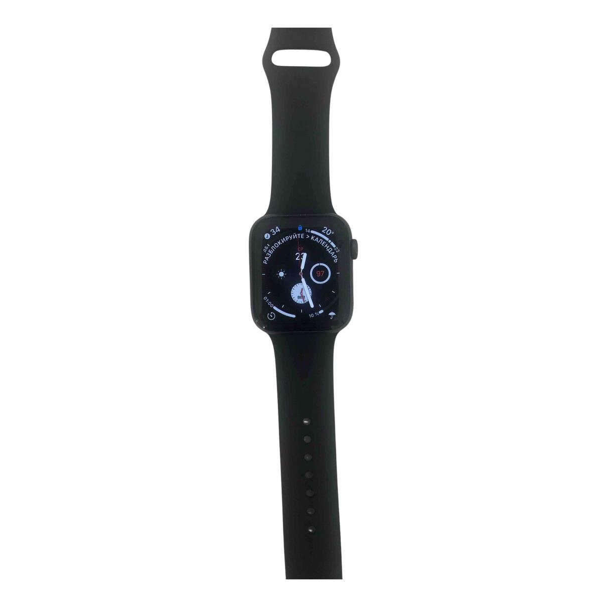 Apple - Montre Apple Watch 44mm pour homme en acier - noir