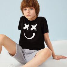 Jungen T-Shirt mit Muster